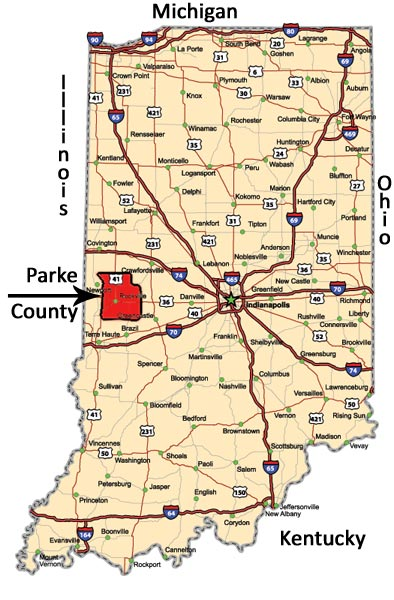 A Guide To The Covered Bridges Of Parke County Indiana Where Is